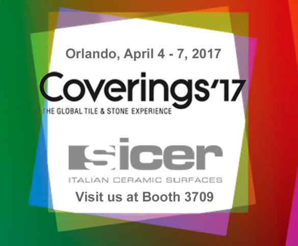 Sicer partecipa a Coverings 2017