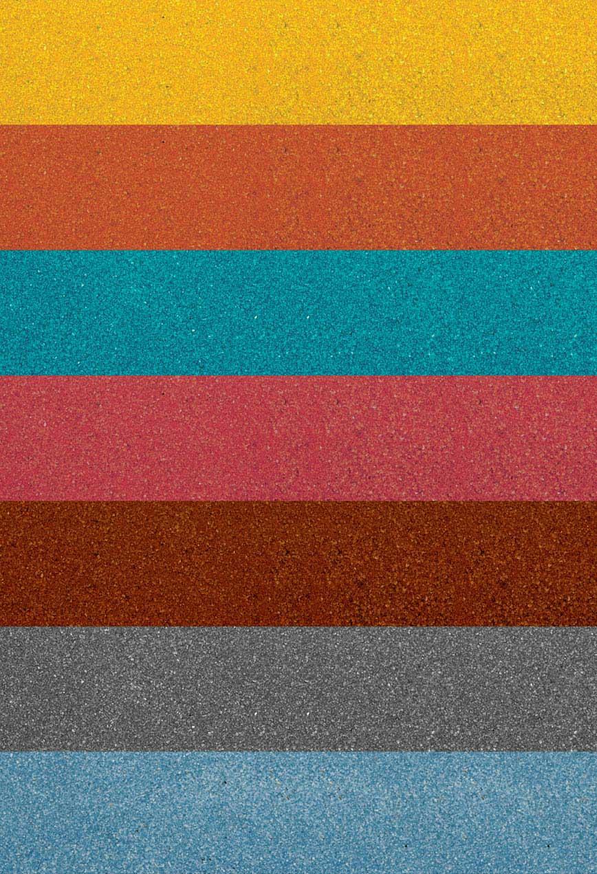 SERIE HP: Graniglie e Micrograniglie calibrate colorate in fusione